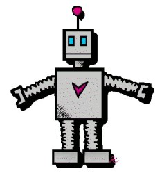 Send My Robot: Cartoon Robot of Love